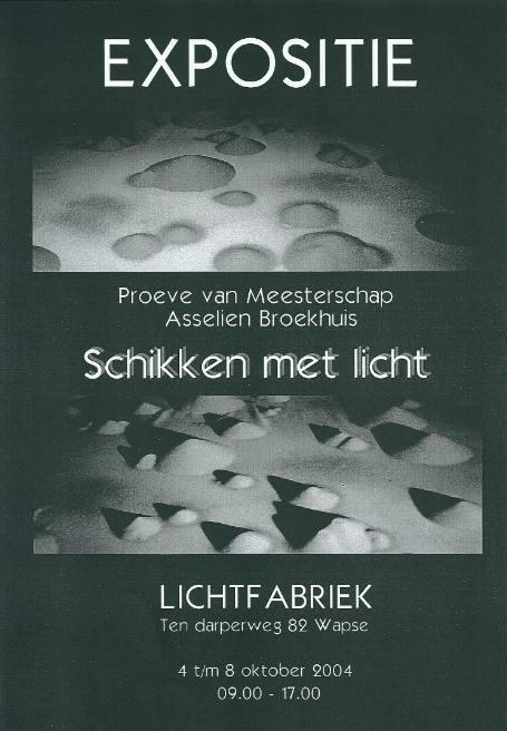 Schikken met licht 2004